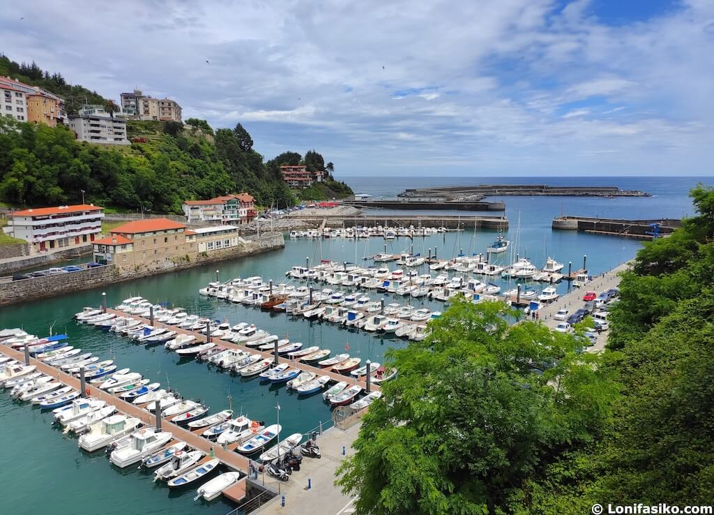 fotos puerto de mutriku