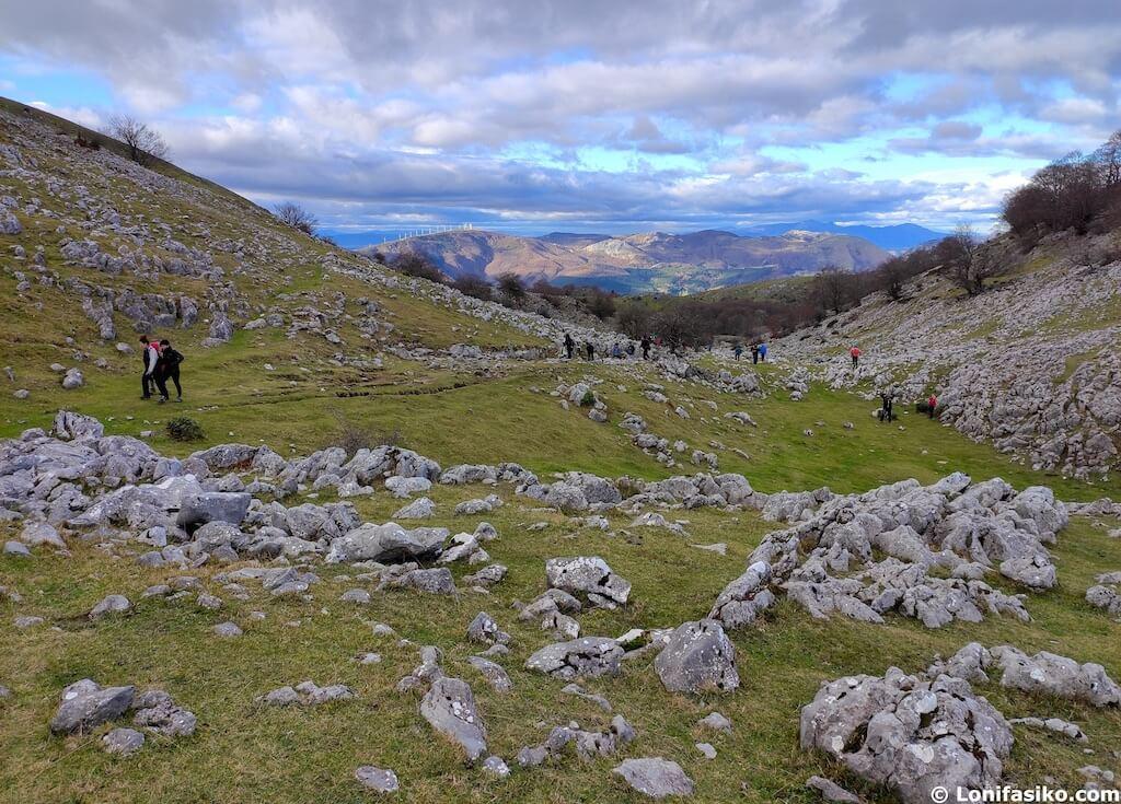 parques naturales euskadi rutas senderismo