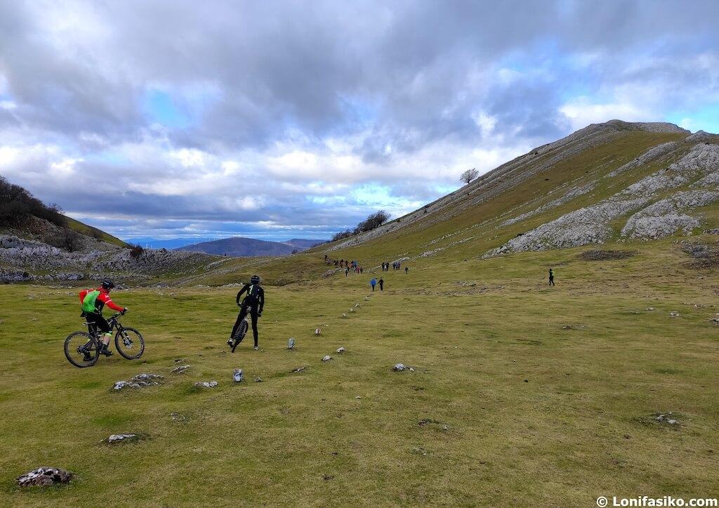 rutas btt pais vasco bicicleta montaña