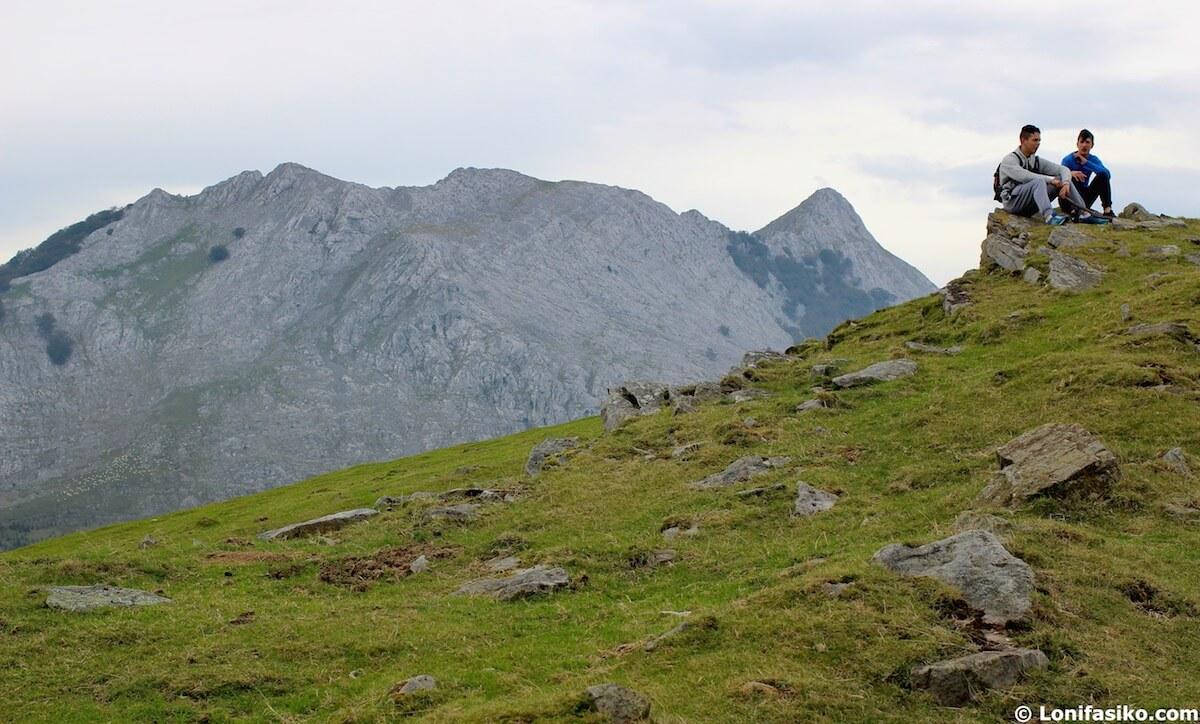 rutas parque natural urkiola
