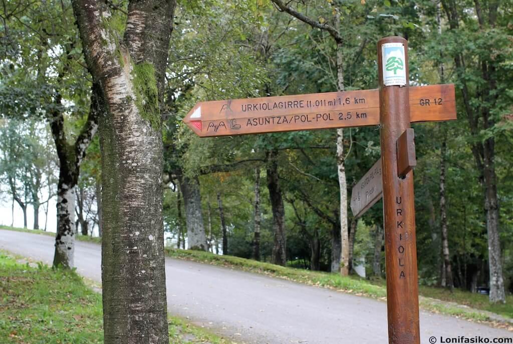 rutas senderismo con niños en urkiola