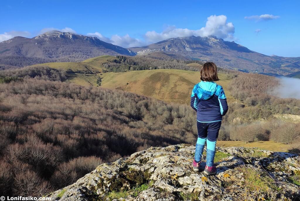 rutas senderismo con niños pais vasco