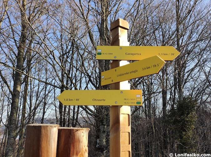 rutas senderismo señalizadas euskadi