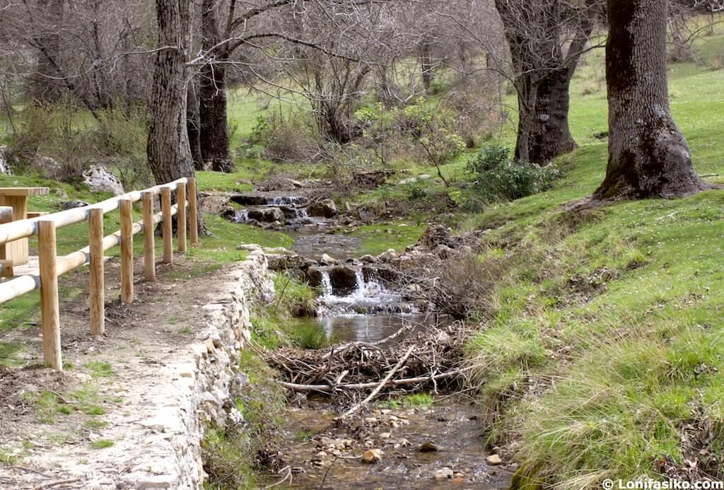 cañada de la fuente nacimiento rio guadalquivir