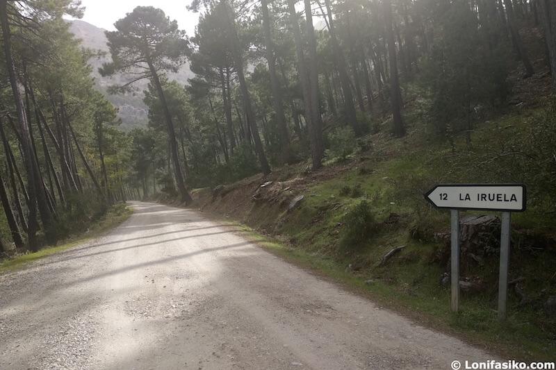 carreteras sierra de cazorla en coche