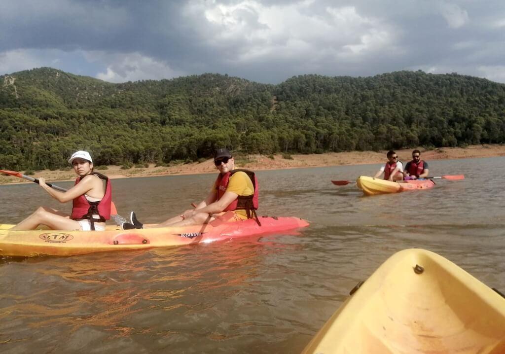 kayak en cazorla turismo activo