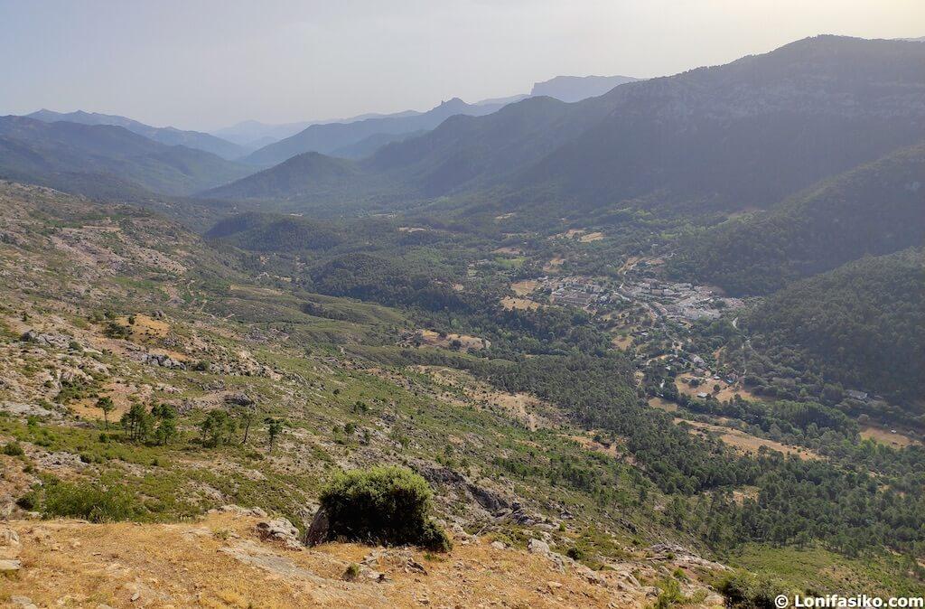 Mirador sobre el valle del Guadalquivir en Cazorla