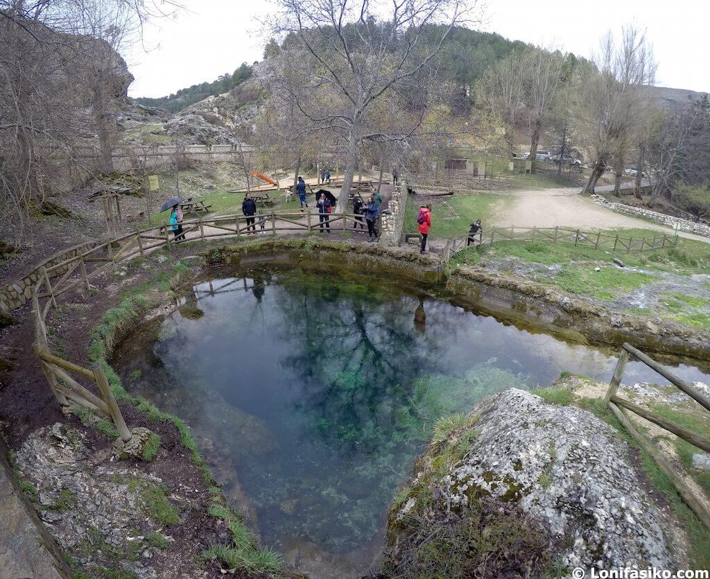 nacimiento rio segura nacedero fuente segura