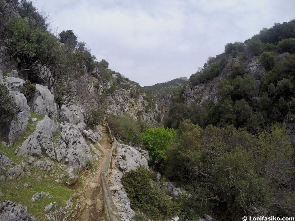 ruta cerrada del utrero cazorla senderismo