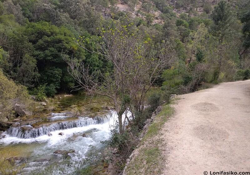 ruta del rio borosa con niños