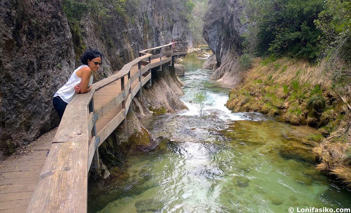 ruta del rio borosa en cazorla cerrada de elias