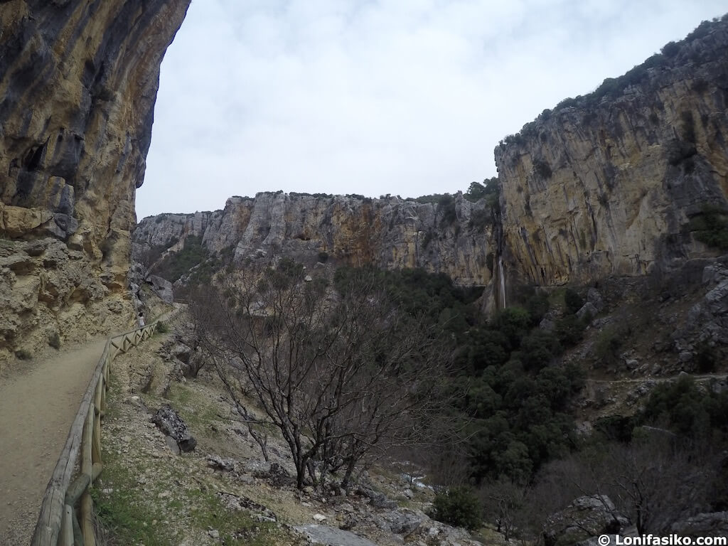 ruta senderismo cerrada del utrero cazorla