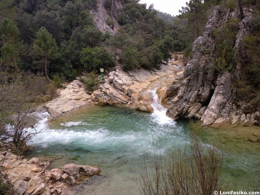ruta senderismo rio borosa cazorla