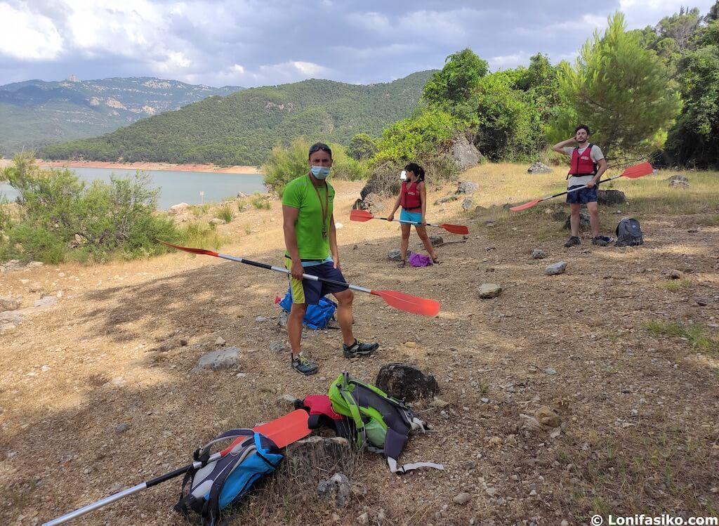 turismo activo en cazorla kayak embalse del tranco
