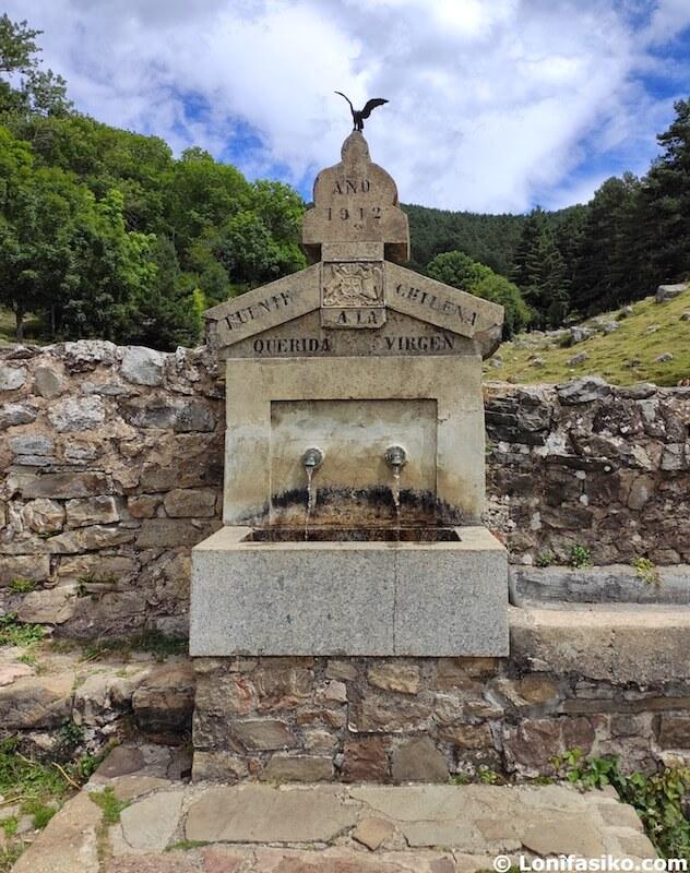 fuente chilena ermita virgen lomos de orios
