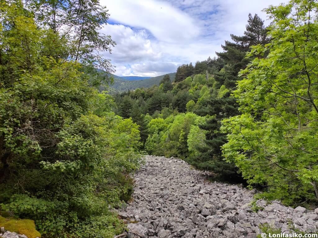 parques naturales en la rioja sierra de cebollera