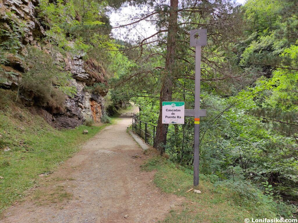 ruta senderismo cascadas de puente ra la rioja