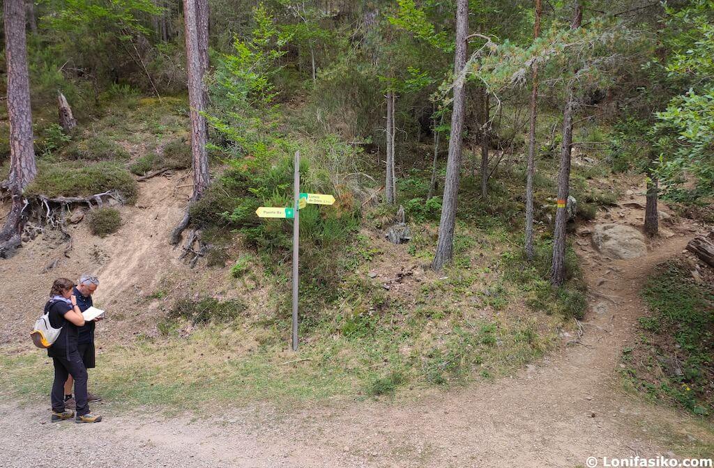 ruta sendero de las cascadas puente ra