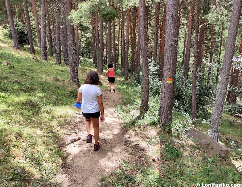 rutas sierra de cebollera con niños la rioja