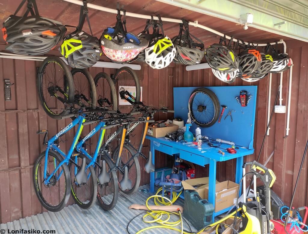 alquiler de bicicletas via verde del plazaola