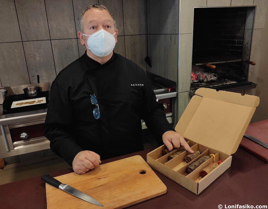chef cocinero restaurante maskarada lekunberri navarra