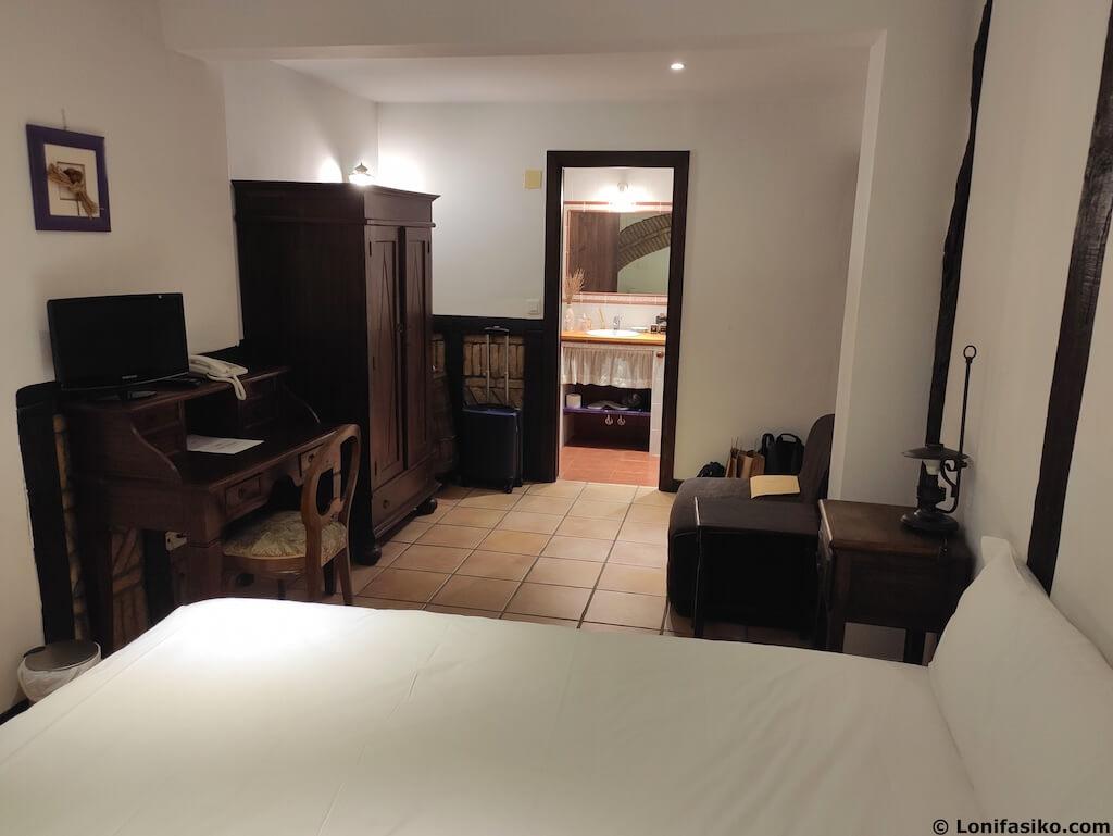 hotel rural atxaspi lesaka alojamiento