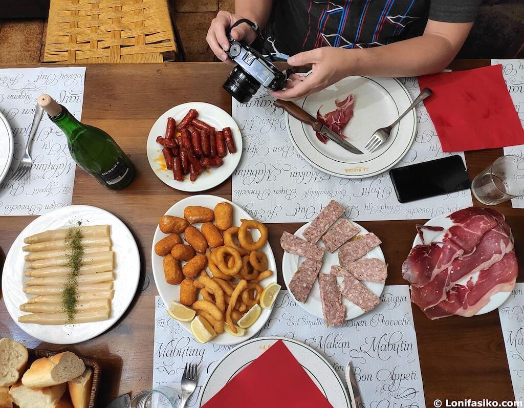 la basque restaurante asador etxalar