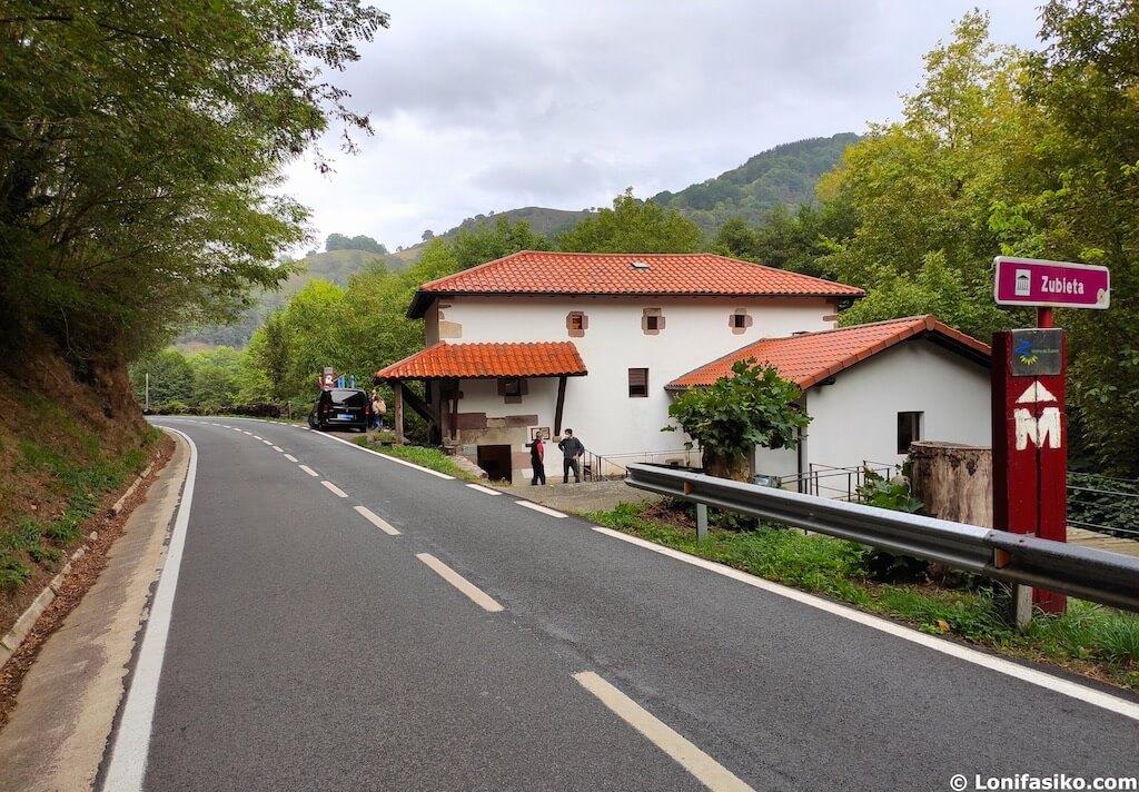 Molino de Zubieta en Navarra cómo llegar en coche