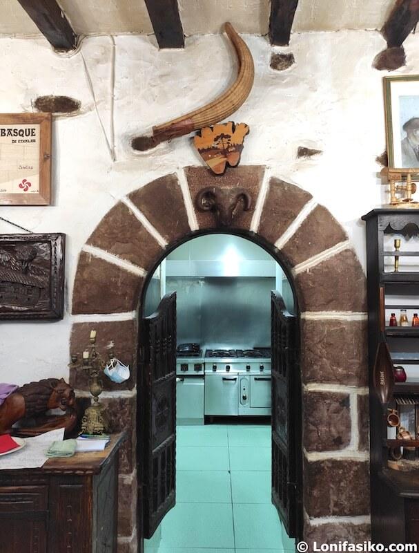 restaurantes en etxalar la basque