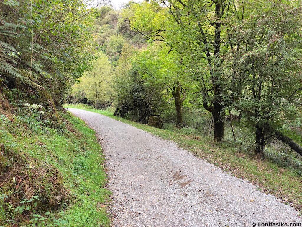 via verde del plazaola tramo lekunberri latasa