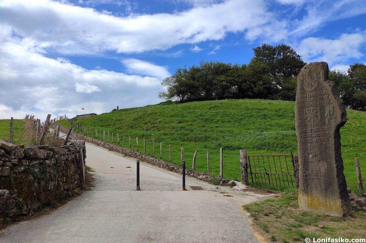 visitar castillo Amaiur Navarra fotos