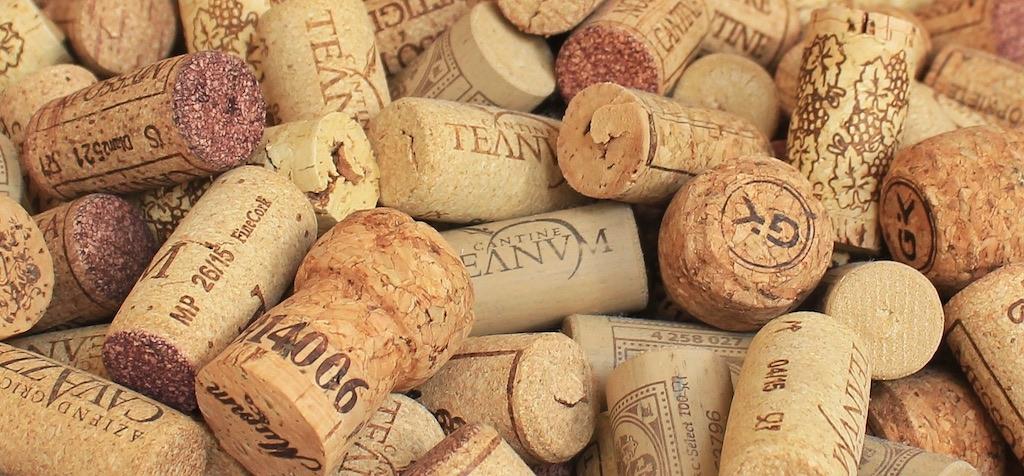 corchos de vinos