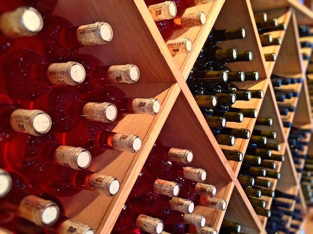 estanterias de vinos
