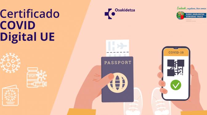 Pasaporte Covid en euskadi online: guía para torpes